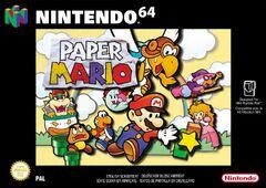 Paper Mario - Boxart EUR