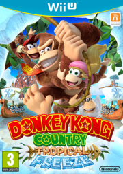 Donkey Kong Country Tropical Freeze - Boxart Eur