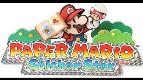 Paper Mario Sticker Star OST - Mega-Sparkle Goomba Battle (LOW HP)
