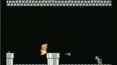 Super Mario Bros. - Final Boss battle vs