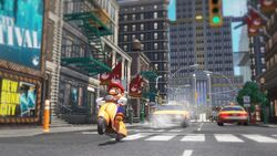 Mario Scooter Screenshot - Super Mario Odyssey