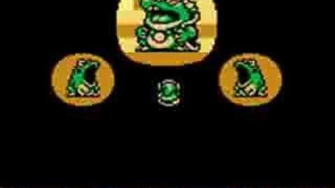 Wart cameo in Legend of Zelda Link's Awakening