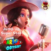 Jump Up, Super Star! - Copertina