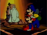 180px-Mario and Luigi greeted by Kinoko Sennin