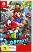 Super Mario Odyssey - Box Art AU