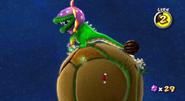 Dino Piranha Screenshot - Super Mario Galaxy