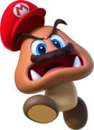 Goomba Capturato Artwork - Super Mario Odyssey