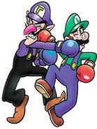 Game&WatchGallery4 Walu e Luigi
