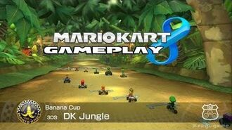 Mario Kart 8 - DK Jungle ( 3DS ) - Banana Cup - Roy Gameplay - HD -