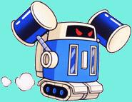 Robot-martello