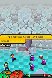 Shroob Screenshot - M&L Viaggio al Centro di Bowser