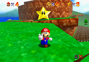Superstella Screenshot - Super Mario 64