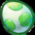 Green yoshi egg YIN