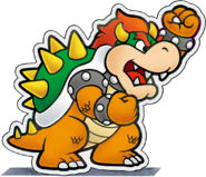 Paper Bowser - M&L Paper Jam Bros.