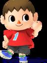 Abitante Artwork - Super Smash Bros. per Nintendo 3DS e Wii U