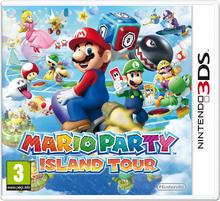 Mario Party Island Tour - Boxart EUR