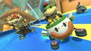 Skelobowser Mario Kart 8 Deluxe screen 2