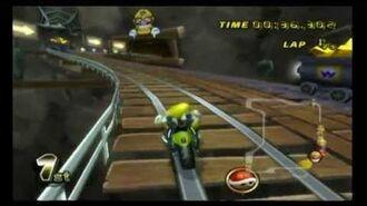 Mario Kart Wii- Wario's Gold Mine