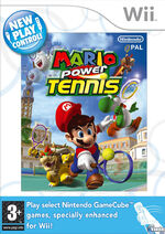 NPC Mario Power Tennis Boxart EU