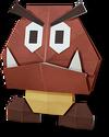 Goomba Origami
