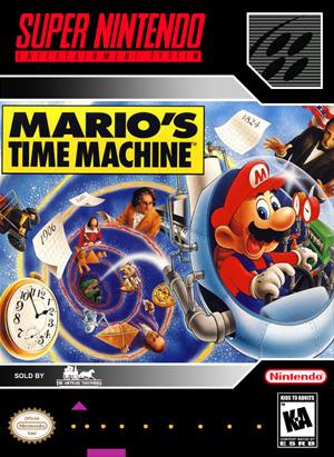 Marios time machine front