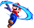 Mario Piroetta Artwork - Super Mario Galaxy