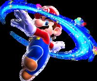 Mario Piroetta Artwork - Super Mario Galaxy