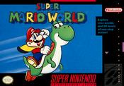 Super Mario World Boxart USA