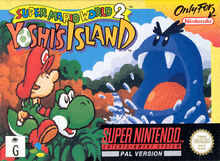 Super Mario World 2 Yoshi's Island - Boxart PAL