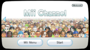 Canale Mii Screenshot - Wii
