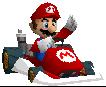 MarioKartDS-Mario Sprite