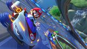 Mario e Luigi Big Blue