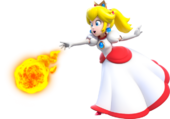 Peach Fuoco - Super Mario 3D World