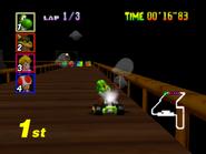 Pontile Stregato Screenshot - Mario Kart 64