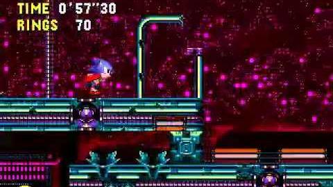 Sonic CD (JP EU) Stardust Speedway Zone 3 Bad Future