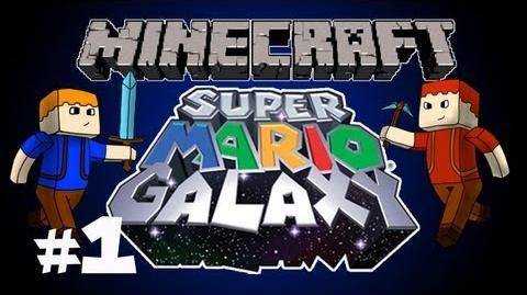 Minecraft - Super Mario Galaxy Ep. 1 Zombie Ride