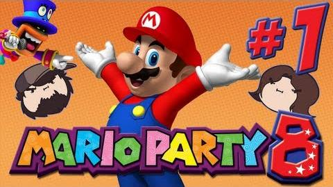 Mario Party 8 The Star Carnival - PART 1 - Game Grumps VS