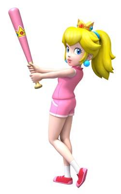 Mario super sluggers princess peach 250