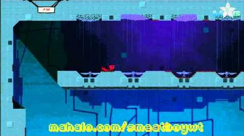 Super Meat Boy Walkthrough - The Hospital 2-5 Big Empty