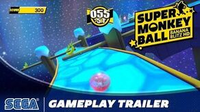 Super Monkey Ball- Banana Blitz HD - Gameplay Trailer
