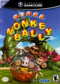 Super Monkey Ball Boxshot