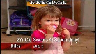 2 Yr Old Swears At Supernanny! Supernanny