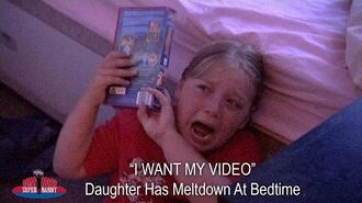 """""""I WANT MY VIDEO!"""" Daughter Has Meltdown At Bedtime Supernanny"""