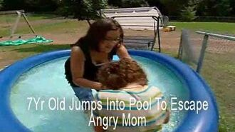 7Yr Old Jumps Into Pool To Escape Angry Mom Supernanny