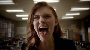 Lydia screams