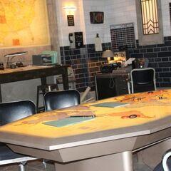 Карта и рабочий стол