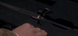 Castiel finding the Grigori sword