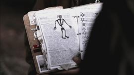 John Winchester journal Wendigo