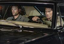 1509 Sam&Dean in Impala