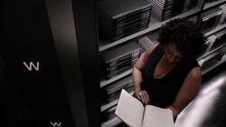 Billie reading